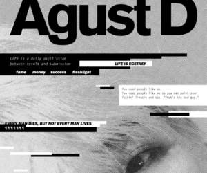 suga, bts, and agust d image