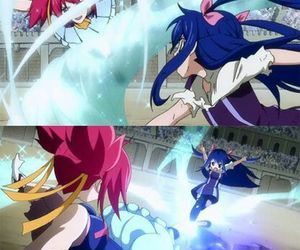 wendy, shelia, and fairy tail image