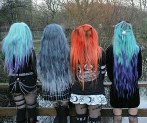 goth, girls, and aesthetic image