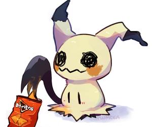 ghost, pikachu, and doritos image