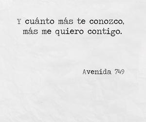 frases amor, avenida 749, and romántico image