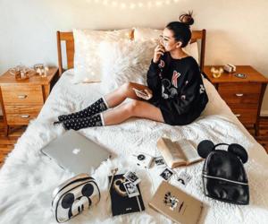 bedroom, cozy, and disney image