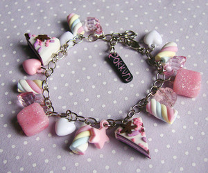 bijoux, cake, and candy image