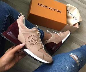 Louis Vuitton and shoes image