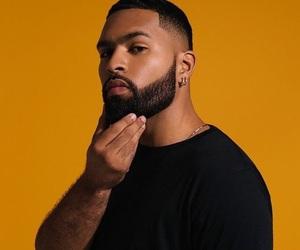 beard, black, and boy image