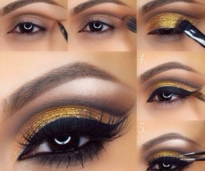 beautiful, makeup, and eyes image