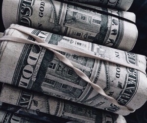money, theme, and grunge image