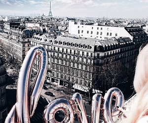 aesthetic, balloon, and paris image
