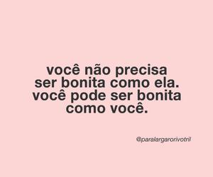 beleza, texto, and brasil image