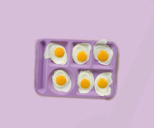 purple, eggs, and minimalist image
