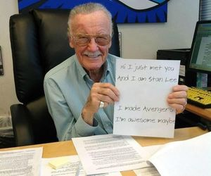 stan lee and Marvel image