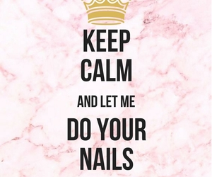 artist, keep calm, and nails image