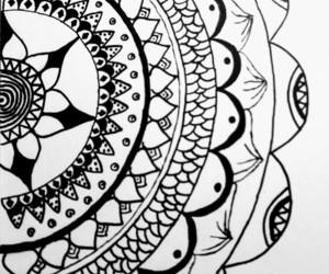 draws, Tattoos, and mandalas image
