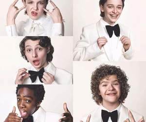 cast, personagens, and stranger things image