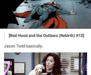 bizarro, red hood, and superman bizarro image