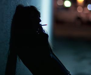 smoke, grunge, and girl image