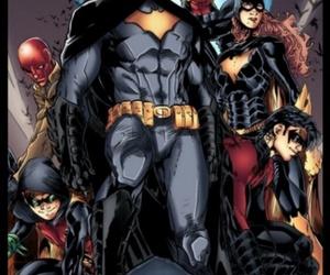batgirl, nightwing, and tim drake image
