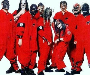 slipknot, black and white, and sid wilson image