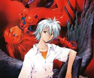 90s, asuka langley, and anime image