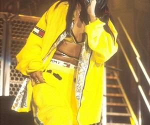 90s, aaliyah, and fashion image