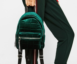 backpack, green, and purse image