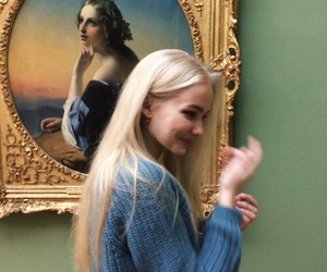 girl, art, and tumblr image