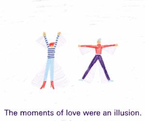 love, illusion, and art image