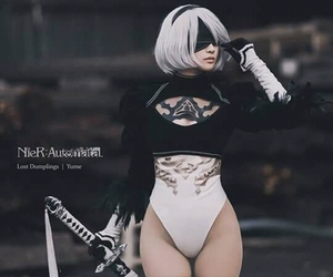 cosplay, game, and 2b image