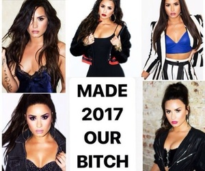 bitch, fotos, and lovato image