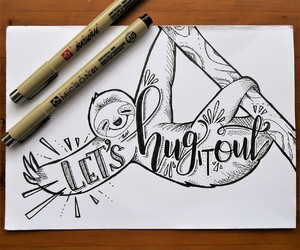 hand lettering, quotes, and instant printable image