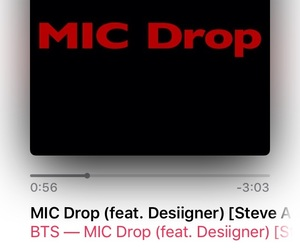 iTunes, music, and bts image