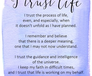 life, trust, and trust life image