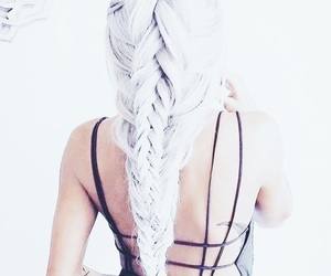 beautiful, fashion, and braid image