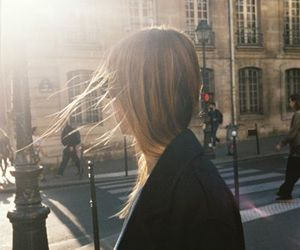 girl, paris, and france image