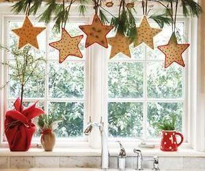 christmas and window image