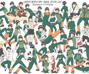 rock lee, naruto uzumaki, and naruto shippuden image