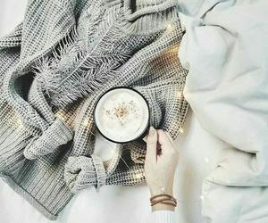 christmas, coffee, and cozy image