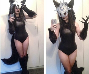 cosplay, costume, and wolf image