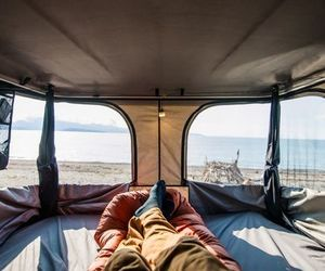 travel, wanderlust, and rooftop tent image