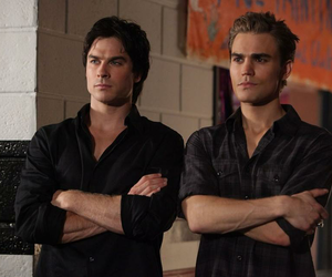 the vampire diaries, ian somerhalder, and damon image