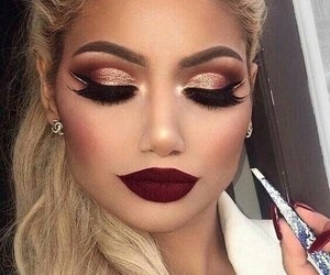 blond, inspiration, and lips image