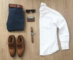 formal, men, and outfit image