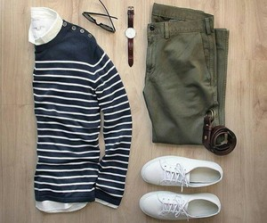 blue, casual, and lines image