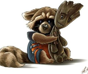 groot and cute image