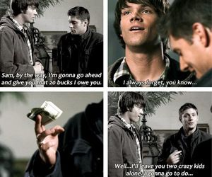 brother, dean winchester, and funny image