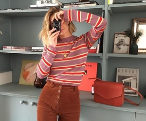 fashion, stripes, and style image