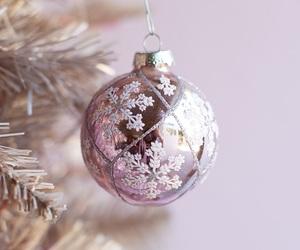 christmas, holiday, and pink image