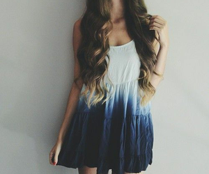 blue, ootd, and cute image
