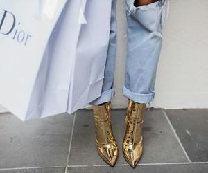 fashion, dior, and chic image
