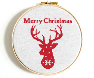 etsy, merry christmas, and snowflakes image